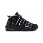 Air More Uptempo Black White 2016